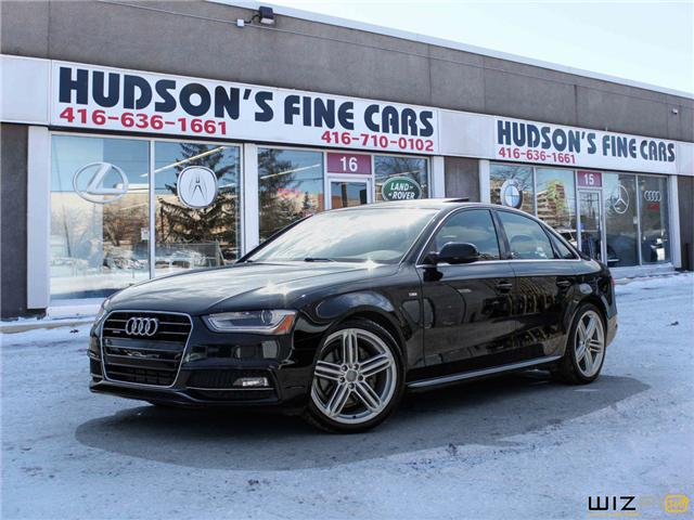 2015 Audi A4 2.0T Progressiv plus (Stk: 20345) in Toronto - Image 1 of 30