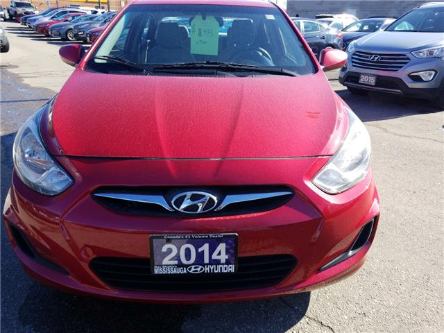 2014 Hyundai Accent GL (Stk: OP9975) in Mississauga - Image 2 of 13