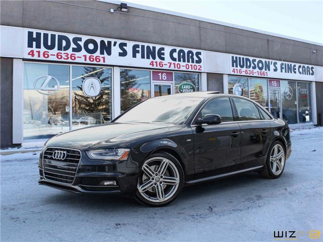 2015 Audi A4 2.0T Progressiv plus (Stk: 28334) in Toronto - Image 1 of 30