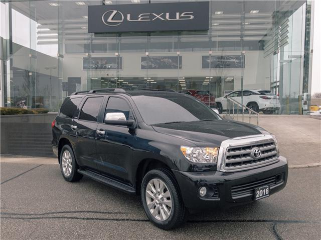 2016 Toyota Sequoia Platinum 5.7L V8 (Stk: 27704A) in Markham - Image 1 of 23