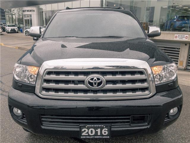 2016 Toyota Sequoia Platinum 5.7L V8 (Stk: 27704A) in Markham - Image 2 of 23