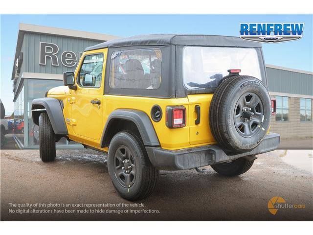 2019 Jeep Wrangler Sport (Stk: K172) in Renfrew - Image 4 of 20