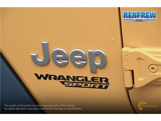 2019 Jeep Wrangler Sport (Stk: K172) in Renfrew - Image 6 of 20