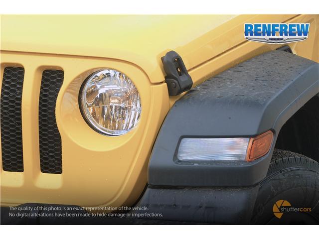 2019 Jeep Wrangler Sport (Stk: K172) in Renfrew - Image 7 of 20