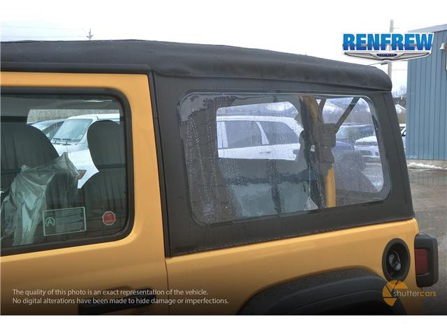2019 Jeep Wrangler Sport (Stk: K172) in Renfrew - Image 8 of 20