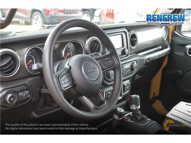 2019 Jeep Wrangler Sport (Stk: K172) in Renfrew - Image 9 of 20
