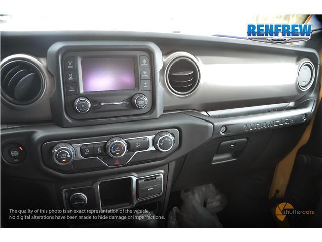 2019 Jeep Wrangler Sport (Stk: K172) in Renfrew - Image 12 of 20