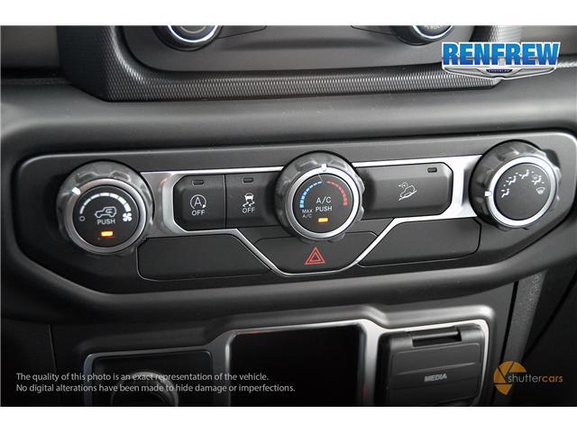 2019 Jeep Wrangler Sport (Stk: K172) in Renfrew - Image 15 of 20