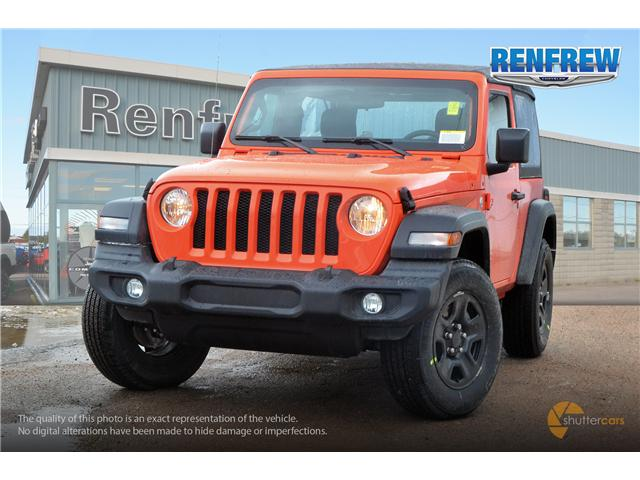 2019 Jeep Wrangler Sport (Stk: K173) in Renfrew - Image 1 of 20