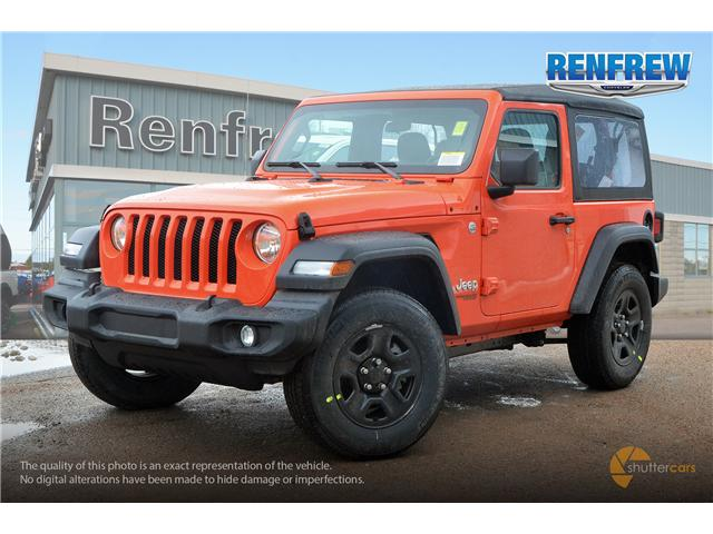 2019 Jeep Wrangler Sport (Stk: K173) in Renfrew - Image 2 of 20