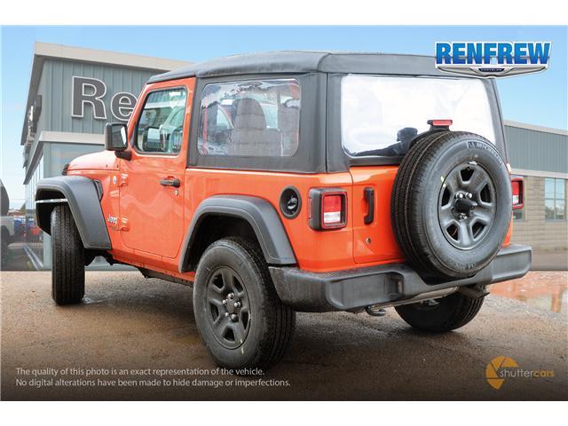 2019 Jeep Wrangler Sport (Stk: K173) in Renfrew - Image 4 of 20