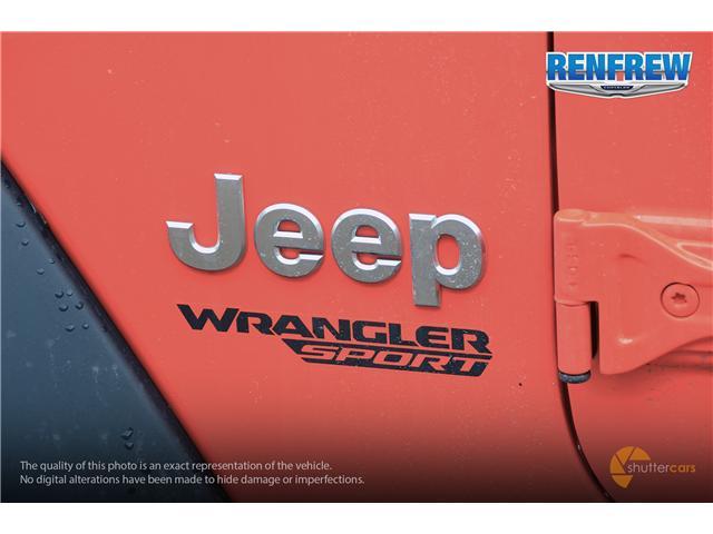 2019 Jeep Wrangler Sport (Stk: K173) in Renfrew - Image 6 of 20