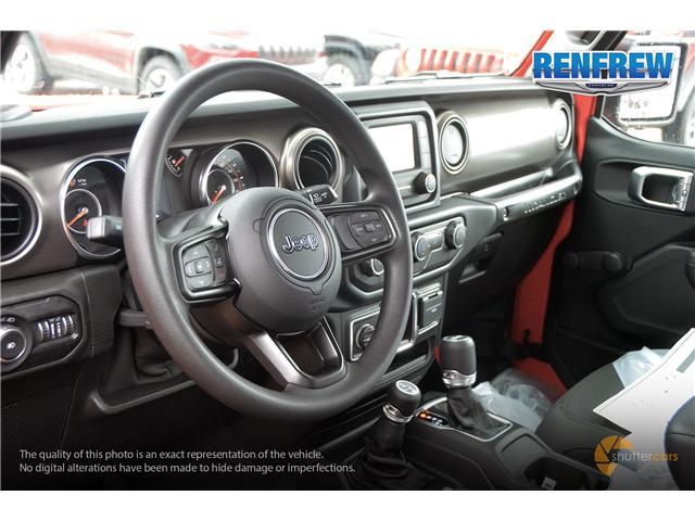 2019 Jeep Wrangler Sport (Stk: K173) in Renfrew - Image 8 of 20