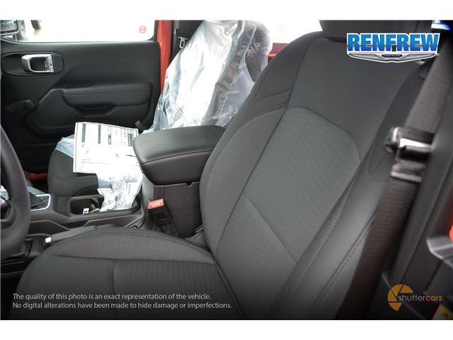 2019 Jeep Wrangler Sport (Stk: K173) in Renfrew - Image 9 of 20
