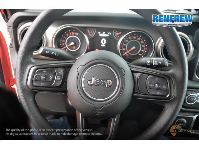 2019 Jeep Wrangler Sport (Stk: K173) in Renfrew - Image 10 of 20