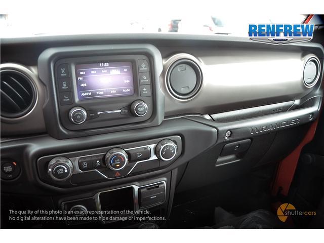 2019 Jeep Wrangler Sport (Stk: K173) in Renfrew - Image 12 of 20