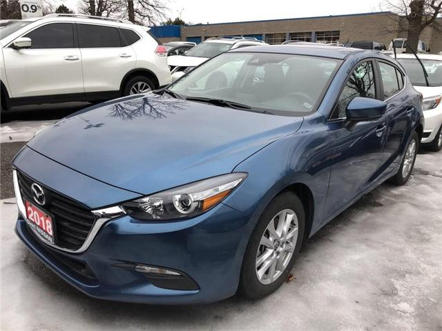 2018 Mazda Mazda3 Sport CONVENIENCE PKG | CERTIFIED | NO ACCIDENTS (Stk: P0612) in Mississauga - Image 1 of 9
