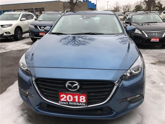 2018 Mazda Mazda3 Sport CONVENIENCE PKG | CERTIFIED | NO ACCIDENTS (Stk: P0612) in Mississauga - Image 2 of 9