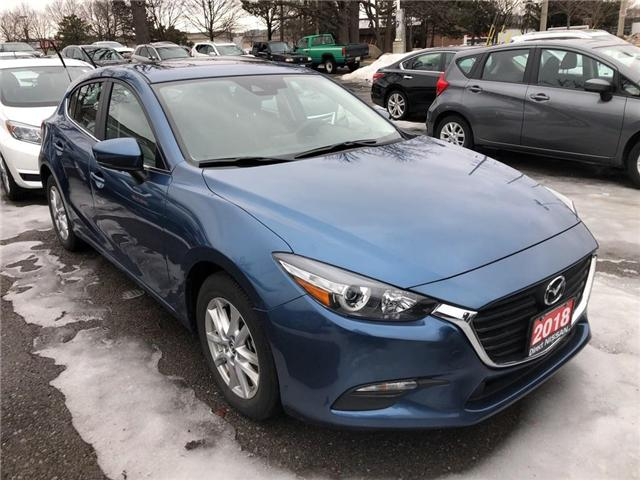 2018 Mazda Mazda3 Sport CONVENIENCE PKG   CERTIFIED   NO ACCIDENTS (Stk: P0612) in Mississauga - Image 3 of 9