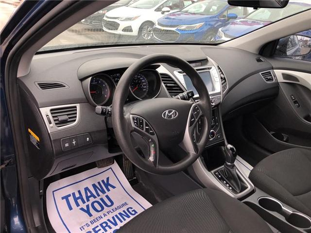 2015 Hyundai Elantra Sport Appearance|TRADE IN| (Stk: 155585A) in BRAMPTON - Image 9 of 17