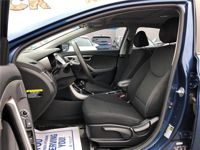 2015 Hyundai Elantra Sport Appearance|TRADE IN| (Stk: 155585A) in BRAMPTON - Image 10 of 17