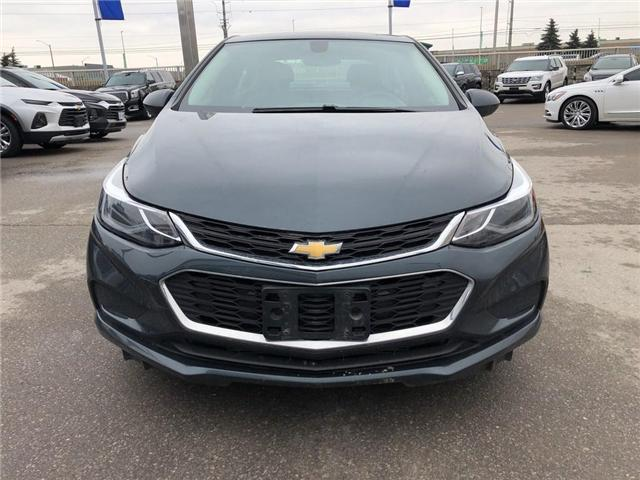 2017 Chevrolet Cruze LT|SUNROOF|BACK UP CAMERA|BLUETOOTH| (Stk: PW17974) in BRAMPTON - Image 2 of 13