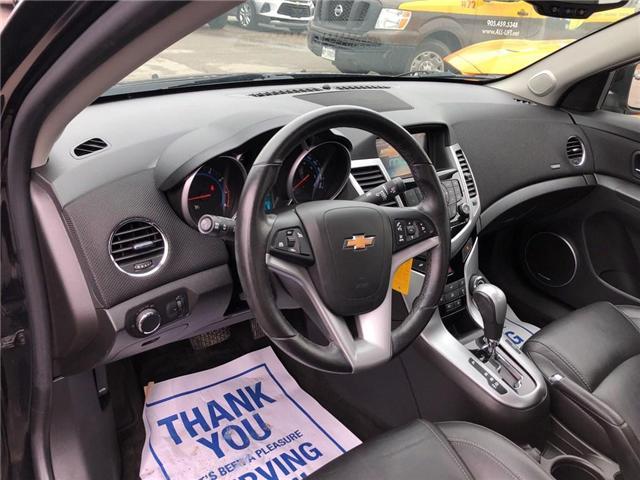 2015 Chevrolet Cruze 2LT|LEATHER|SUNROOF|BLUETOOTH| (Stk: PA17888) in BRAMPTON - Image 9 of 19