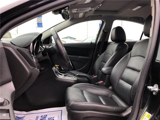 2015 Chevrolet Cruze 2LT|LEATHER|SUNROOF|BLUETOOTH| (Stk: PA17888) in BRAMPTON - Image 10 of 19