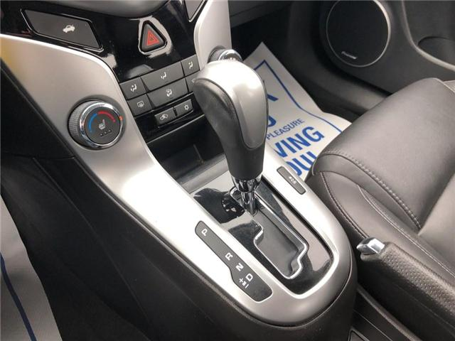 2015 Chevrolet Cruze 2LT|LEATHER|SUNROOF|BLUETOOTH| (Stk: PA17888) in BRAMPTON - Image 18 of 19