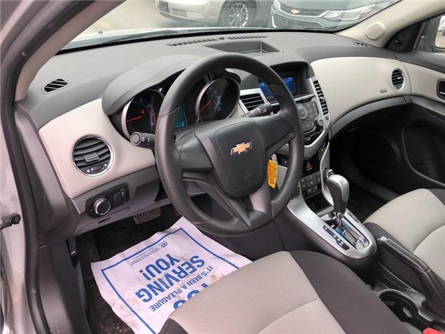 2012 Chevrolet Cruze LS+ w/1SB (Stk: 134993A) in BRAMPTON - Image 8 of 15
