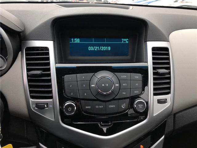 2012 Chevrolet Cruze LS+ w/1SB (Stk: 134993A) in BRAMPTON - Image 11 of 15