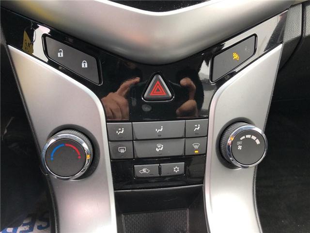 2012 Chevrolet Cruze LS+ w/1SB (Stk: 134993A) in BRAMPTON - Image 12 of 15