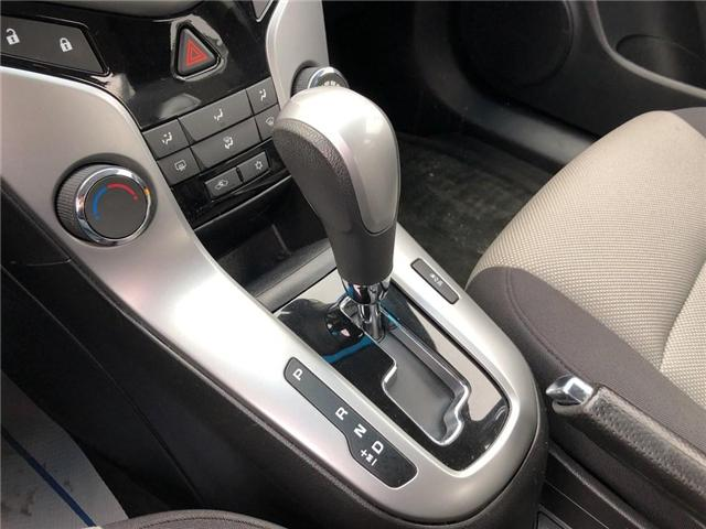 2012 Chevrolet Cruze LS+ w/1SB (Stk: 134993A) in BRAMPTON - Image 13 of 15