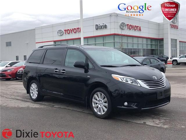 2017 Toyota Sienna XLE 7 Passenger (Stk: D190912A) in Mississauga - Image 1 of 19