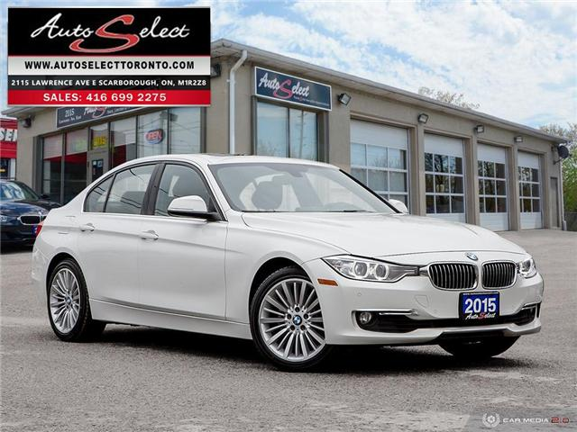 2015 BMW 328i xDrive (Stk: 13SWXM2) in Scarborough - Image 1 of 28