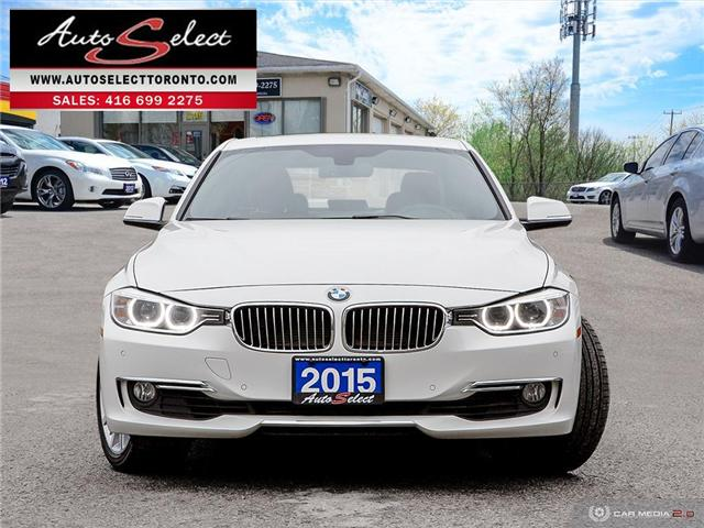 2015 BMW 328i xDrive (Stk: 13SWXM2) in Scarborough - Image 2 of 28