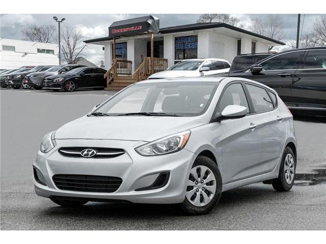 2017 Hyundai Accent  (Stk: H7817PR) in Mississauga - Image 1 of 17