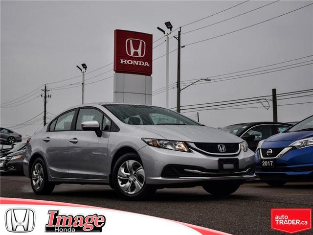 2015 Honda Civic LX (Stk: 9C373A) in Hamilton - Image 1 of 18
