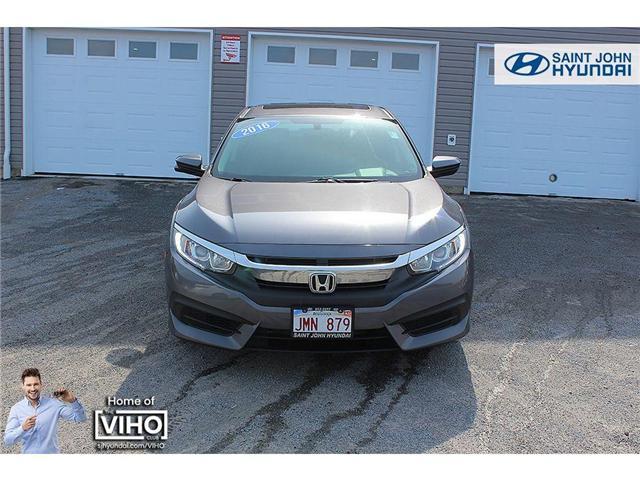 2016 Honda Civic EX (Stk: 87241A) in Saint John - Image 2 of 19
