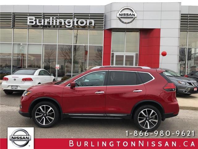 2017 Nissan Rogue SL Platinum (Stk: X8726A) in Burlington - Image 1 of 18