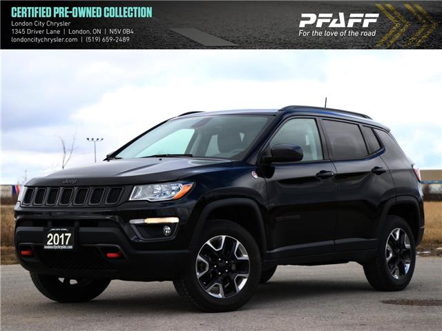 2017 Jeep Compass Trailhawk (Stk: U8509) in London - Image 1 of 26