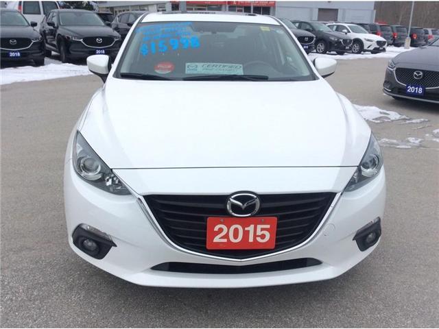 2015 Mazda Mazda3 GS (Stk: 03322P) in Owen Sound - Image 3 of 21