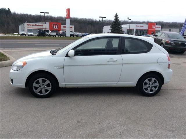 2009 Hyundai Accent L (Stk: 03316PA) in Owen Sound - Image 5 of 16