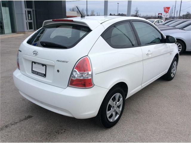 2009 Hyundai Accent L (Stk: 03316PA) in Owen Sound - Image 8 of 16