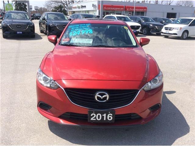 2016 Mazda MAZDA6 GS (Stk: 16007R) in Owen Sound - Image 3 of 21