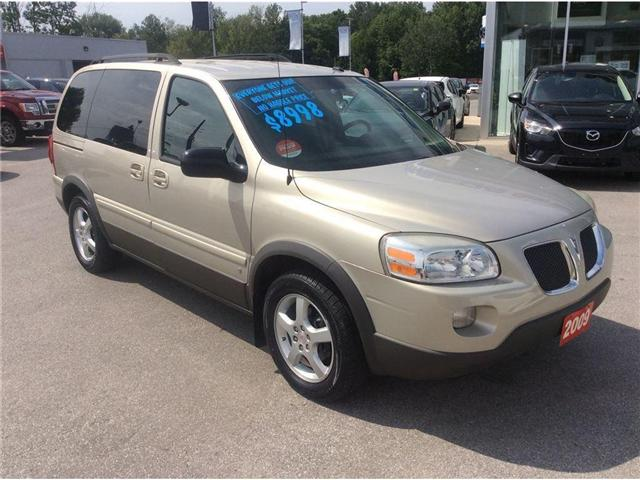 2009 Pontiac Montana SV6 FWD (Stk: 16194PA) in Owen Sound - Image 2 of 17