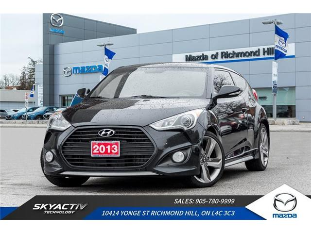2013 Hyundai Veloster Turbo (Stk: 18-958A) in Richmond Hill - Image 1 of 21