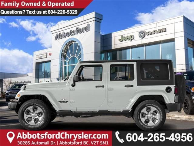 2018 Jeep Wrangler JK Unlimited Sahara (Stk: J864095) in Abbotsford - Image 1 of 1