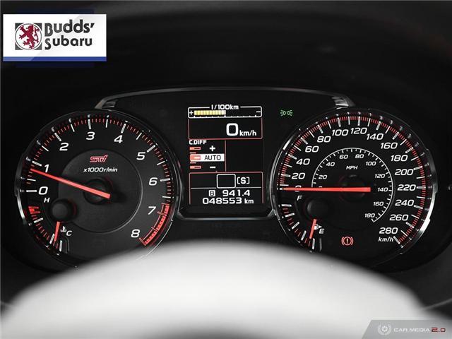 2018 Subaru WRX STI Sport-tech w/Wing (Stk: PS2070) in Oakville - Image 17 of 30