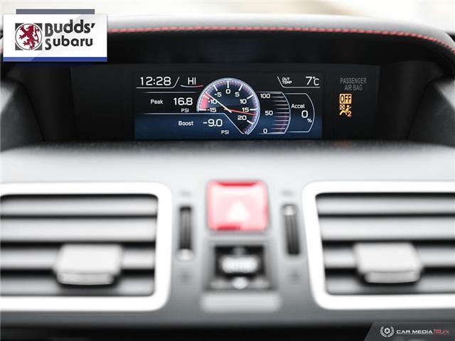 2018 Subaru WRX STI Sport-tech w/Wing (Stk: PS2070) in Oakville - Image 22 of 30